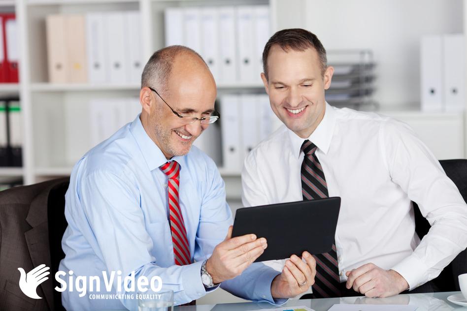 SignVideo BSL Video Interpreting